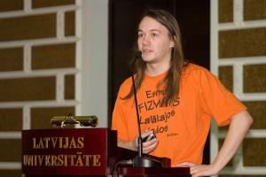 Kirils Solovjovs 2009. gadā. Foto: Toms Grīnbergs, LU Preses centrs