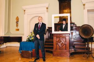 LU rekors prof. Mārcis Auziņš. LU SP Gada balva