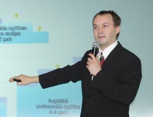 Latvijas Studentu apvienības prezidents Kirils Solovjovs. Foto: Toms Grīnbergs, LU Preses centrs