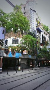 Hundertvasera arhitektūras pērle Vīnē