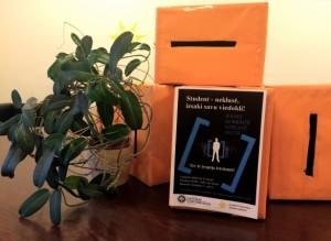 Dienesta viesnīcā izvietotā aptaujas kaste. Foto: LUSP