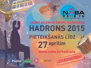 """Jauno grupu konkurss """"Hadrons"""""""