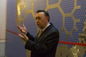 Juris Borzovs. Foto: Toms Grīnbergs, LU Preses centrs
